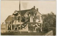 Centennial house decoration, Lubec, 1911
