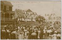 Centennial Living Flag, Lubec, 1911