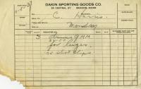 Brady Gang Alias Signature, Bangor, 1937
