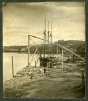 Granite Loading Wharf, Hallowell, ca. 1890