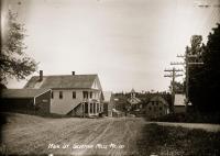 Main Street, Sherman Mills, ca. 1910