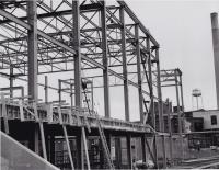 Building of tissue mill, Lincoln,  ca. 1966