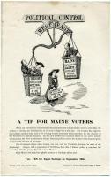 Suffrage vote poster, Portland, 1917