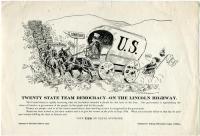 Suffrage campaign cartoon, Portland, 1917