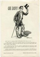 Woman suffrage campaign poster, Portland, 1917
