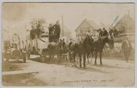 Centennial Celebration float, Lubec, 1911