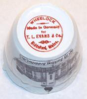 Mark on commemorative tea cup, Biddeford, ca. 1905