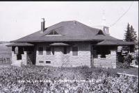 George W. Cote residence, Limestone, ca. 1920