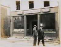 Mullholland's Restaurant, Lubec,  ca. 1965