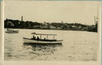 Boats on Saco River, ca. 1917