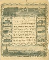 Josiah Pierce letter from Berlin, 1855