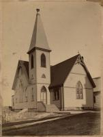 Christian Temple Church, Lubec, ca. 1900