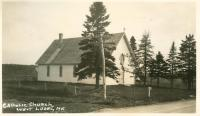St. Patrick's Catholic Church, West Lubec, ca. 1930