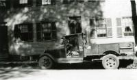 Arthur Moore's first ice truck