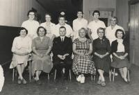 Staff of North Yarmouth Memorial School, ca. 1960