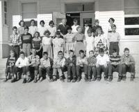 North Yarmouth Memorial School Grades 5 and 6, 1956
