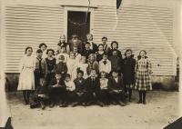 Dunn's Corner School, North Yarmouth, Nov. 4, 1909