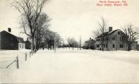 Main Street, Walnut Hill, North Yarmouth, 1910