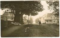 Main Street from Pleasant Street, Lubec, ca. 1905