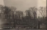 French Street Ruins, Bangor, 1911