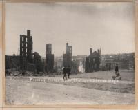 Ruins of Downtown Buildings, Bangor, 1911