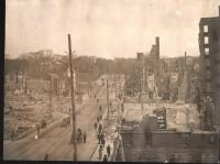 State Street after fire, Bangor, 1911