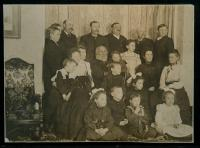 Pike family, Lubec, ca. 1898