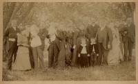 Pike family, Lubec, 1892