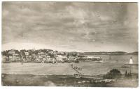 Village panorama, Lubec, ca 1900