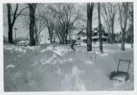 Blizzard, Union Street, Hallowell, 1952