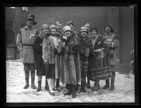 Le Boucanier Snowshoe Club, Biddeford, 1927