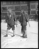 Joseph Patri and G.E. Demers, Portland, 1927