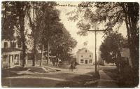 Pleasant Street toward Blue Hill Harbor, ca. 1905