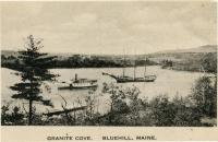 Granite Cove, Blue Hill, ca. 1900