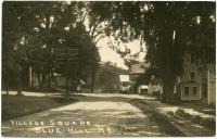 Village square, Blue Hill, ca. 1910