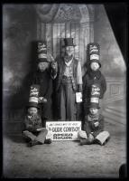 Dude Cowboy advertising at City Theater, Biddeford, ca. 1915