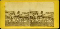 Train Wreck at Tin Bridge, Bangor, 1871