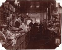 E. A. Weatherbee Hardware Store, Lincoln, 1900