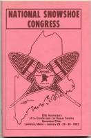 National Snowshoe Congress program, Lewiston, 1983