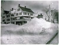 Turner House in Winter, Guilford, ca. 1890