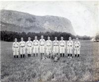 Guilford Baseball Team at Kineo, Aug. 29, 1895