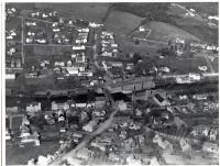 Aerial view of Guilford Village, ca. 1920