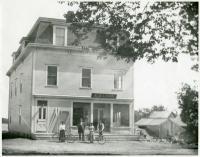 Odd Fellows Building, Blue Hill, ca. 1900