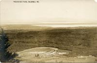 Aerial oblique view of Blue Hill Fair, ca. 1915