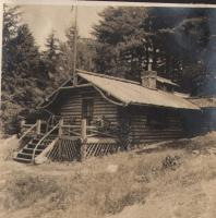 Log Cabin, Blue Hill, 1907