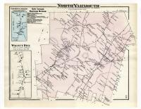 Map of North Yarmouth. 1871