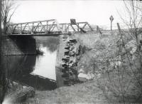 Bridge over the Royal River, North Yarmouth, ca. 1952