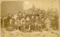 Long Island School, District #12 Blue Hill, ca. 1890