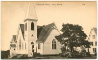 Christian Temple Church, Lubec, ca. 1950
