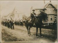 Parade on Main Street, Lubec, ca. 1908-10